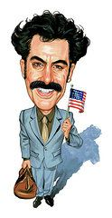 Art Art - Sacha Baron Cohen as Borat Sagdiyev   by Art