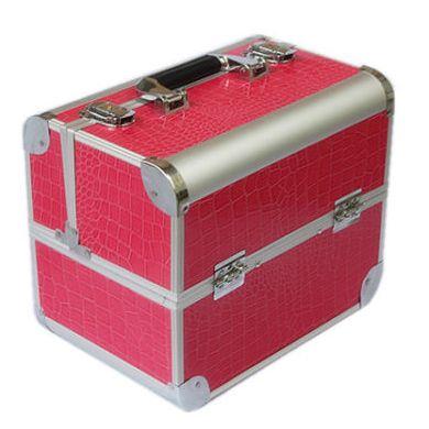 nagelkoffer nagelstyliste koffer beautycase roze pink