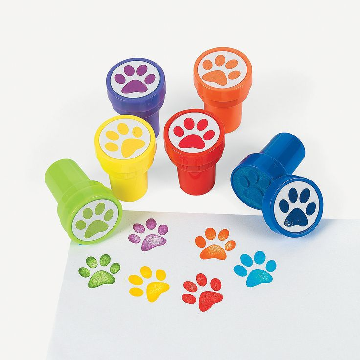 Paw Patrol party Paw Stampers - OrientalTrading.com