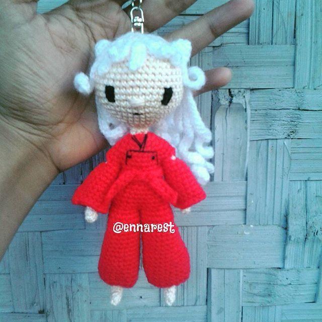 Inuyasha  #amigurumi  #inuyasha #crochet  #crochetdoll #keychain #handmade #crafts