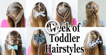 #Easy Hairstyles for toddlers #einfache #für #HalfUpFrisuren #Kleinkinder