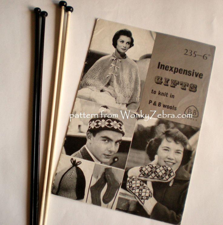 P&B wools 235 gift booklet WZ064 from WonkyZebra