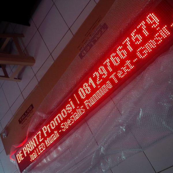 Running Text LED Colour Display Moving Sign Tulisan Berjalan Outdoor P10 Murah Surabaya