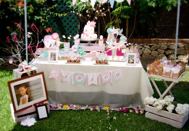1000 images about primera comunion on pinterest search - Mesa shabby chic ...