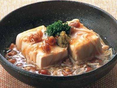 [豆腐のきのこあんかけ] 料理レシピ|みんなのきょうの料理