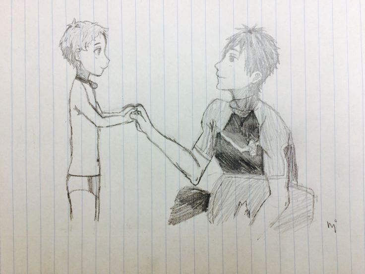 Free! Makoto- fan art by me (for a friend!)