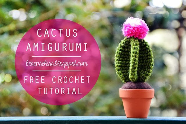 Airali design. Where is the Wonderland? Crochet, knit and amigurumi.: Cactus amigurumi - free pattern