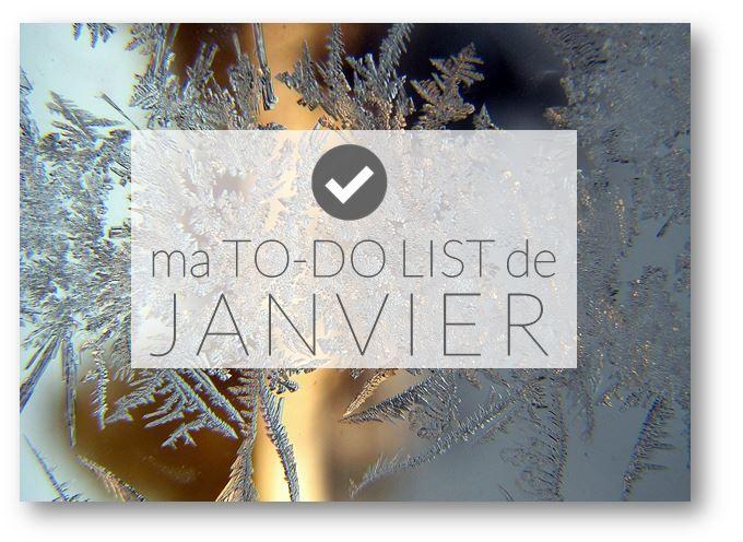 """✿ Ma """"to-do list"""" de janvier. - {astuces} ORGANISATION maison"""