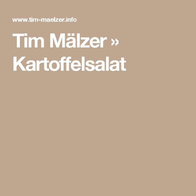 Tim Mälzer » Kartoffelsalat