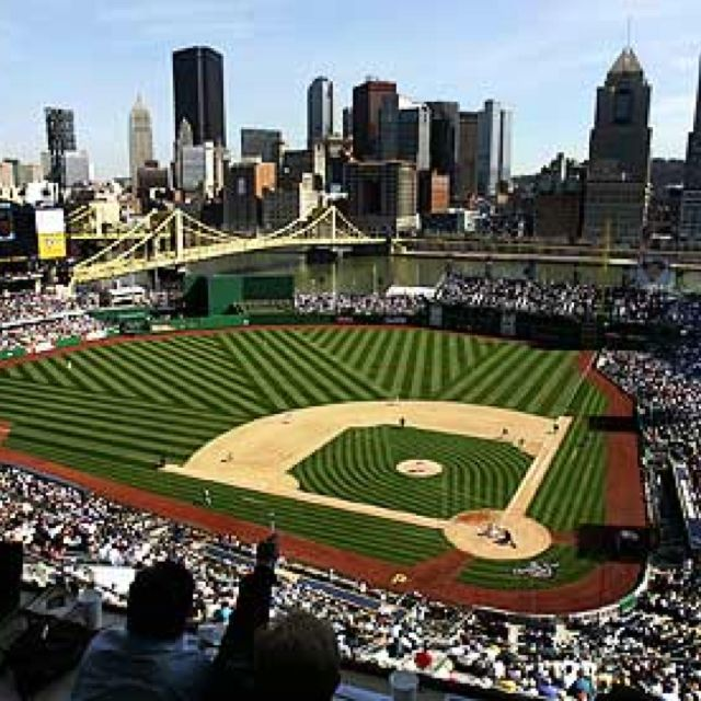 PNC PARK: America's best ballpark ( IMHO ). What a view!