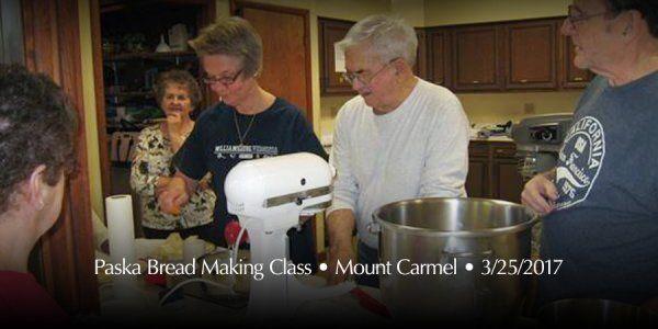 Diocese of Eastern Pennsylvania - Paska Bread Making Class • Mount Carmel