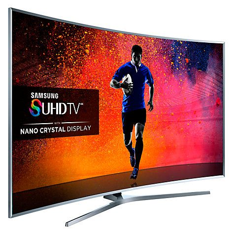 "Buy Samsung UE78JS9500 Curved 4K SUHD 3D Smart TV, 78"" with Freeview HD/ freesat HD, Built-in Wi-Fi and Integrated Skype Camera Online at johnlewis.com"
