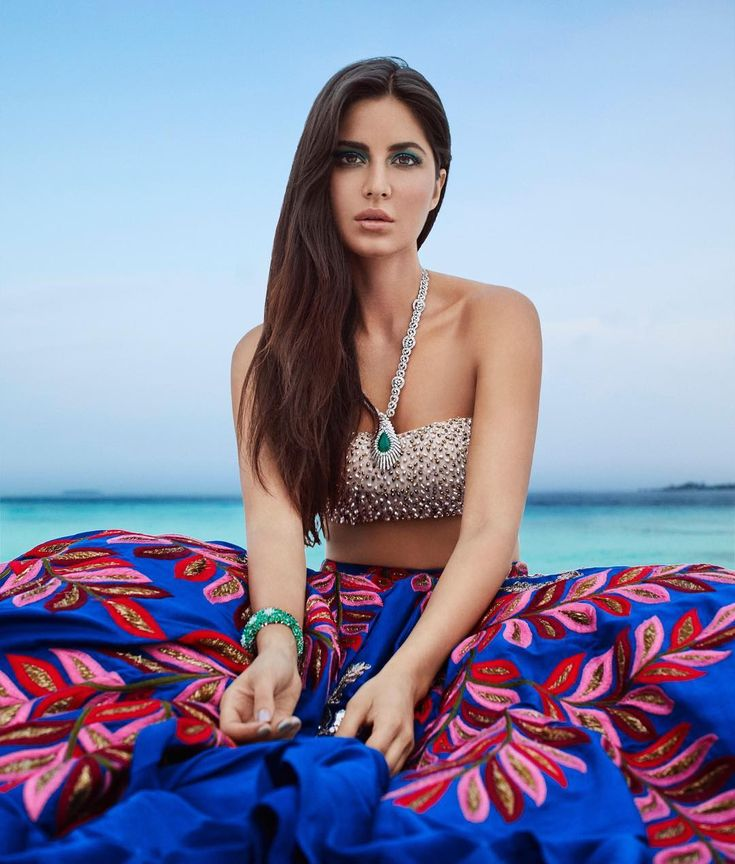 Katrina Kaif in Manish Malhotra for Harper's Bazaar Bride India