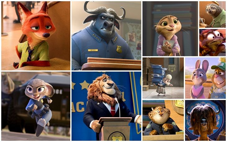 Zootopia by Disney Presents the New Characters, and Some