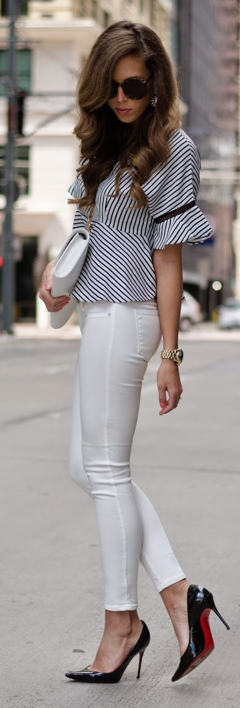Striped Inspiration Outfit