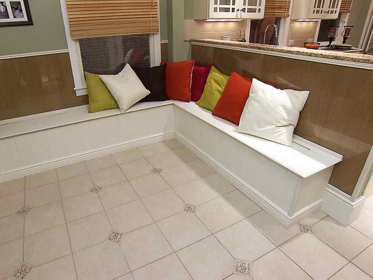 banquette seating with storage | DIY Banquette Seating: DIY Banquette Seating Storage – Vizimac