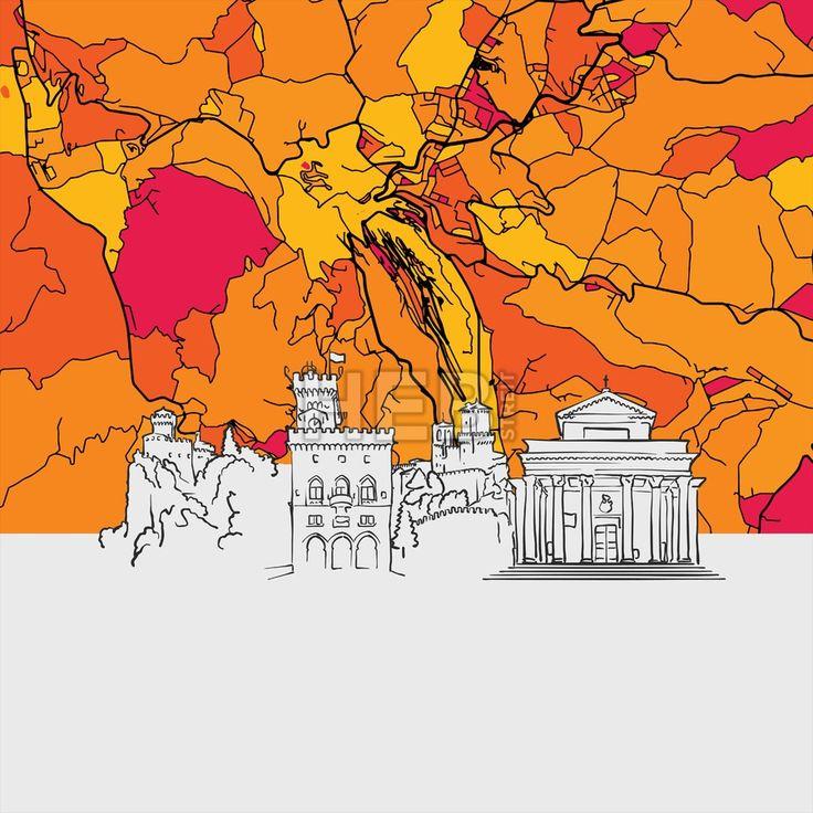 Best San Marino Map Ideas On Pinterest Irctc Railway Booking - San marino map download