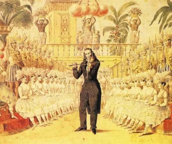 Un grande della musica: Niccolò Paganini Niccolò Paganini era anche un uomo strano, misterioso, inquietante. Le caratteristiche che legano il famoso artista al sovrannaturale iniziano quando è un bambino, all'età di sei anni, quando fu cons #diavolo #misteriosi #niccolòpaganini