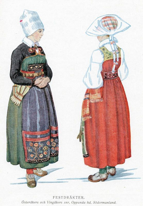 FolkCostume: Sarafan-like costumes of Europe
