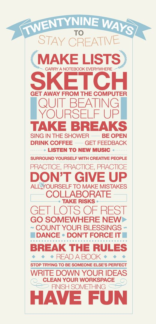 love this!: Thoughts, Idea, Remember This, Stuff, Quotes, Stay Creative, Poster, Things, Living