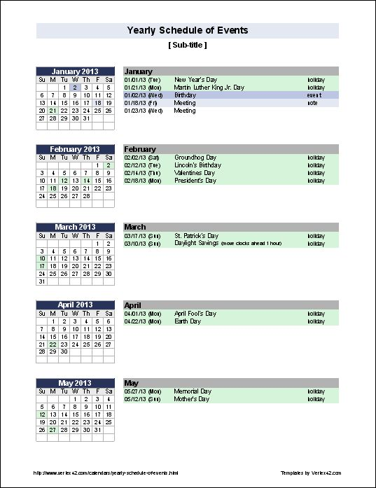 46 best Calendars and Planners images on Pinterest Calendar - birthday planner template