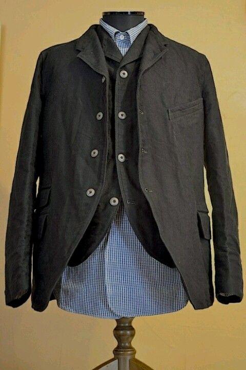 Moleskin Sack Coat