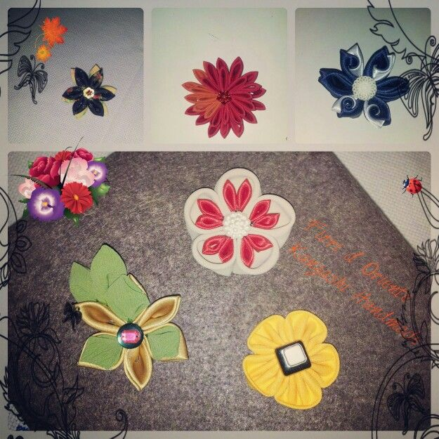 New kanzashi: pins,  hairclips,  brooches and much more.  Nuovi kanzashi : spille, pinze e pinzette per capelli e non solo. ....tanto tanto di più.  #handmade #kawaii #cute #fashion #fioridoriente #kimono #kanzashi #geisha #maiko #spille #accessori #pinzepercapelli #imadeit #iwantit #lovoglio #fashion #fiori #fleur #flores #japaneseculture #hanakanzashi #flowers #moda #look #me #japaesefashion #fashion #handmade