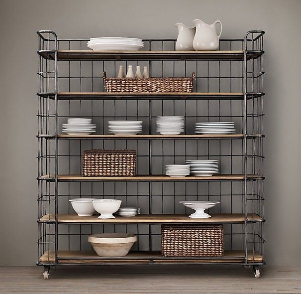 Bakers Rack Kitchen, Farmhouse Bakers Racks And