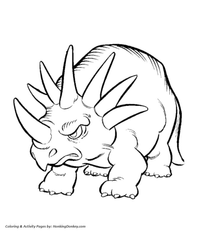 18 best coloring dinosaurs images on pinterest - Childrens Coloring Pages Dinosaurs