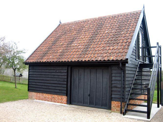 Cart Lodge Construction - Classic Suffolk Timberframes