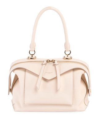 Givenchy Sway Small Leather Top-Handle Bag. Find this Pin and more on  Designer handbags ... d04504439ec4b