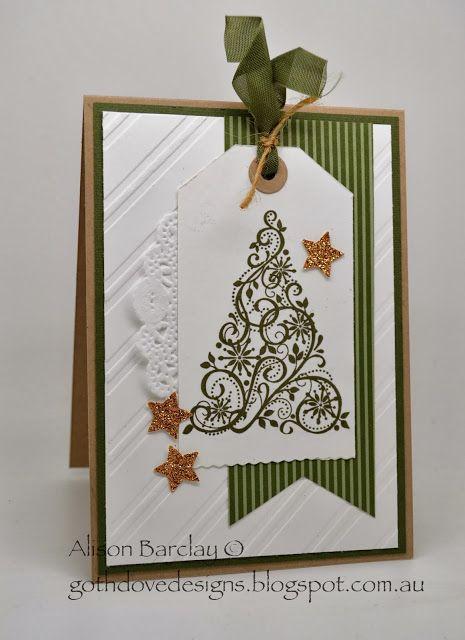 Gothdove Designs - Alison Barclay Stampin' Up! ® Australia : Stampin' Up! Australia - Stampin' Up! Christmas Card