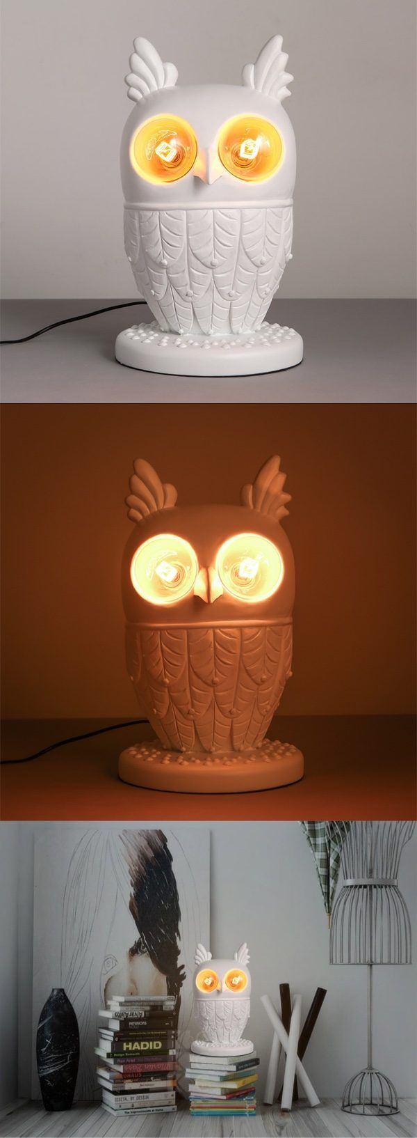 Vintage owl lamps - 50 Owl Home Decor Items Every Owl Lover Should Have