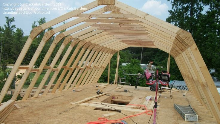 barn truss designs | Homesteading: CricketsGarden picture ...