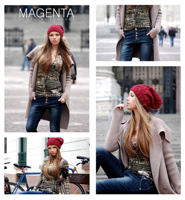 Magenta Street Style