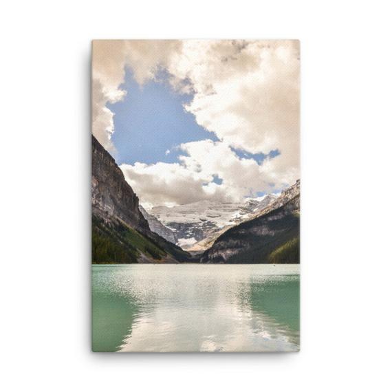 Lake Louise Photography Print Canvas Wall Art Mountain Wall Etsy Mountain Wall Art Photography Print Nature Prints