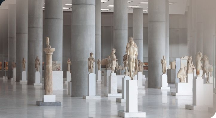 The Archaic Gallery | Acropolis Museum