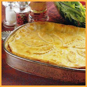 Hähnchen-Pastete und Schinken-Käse-Täschchen.  Wenn Gäste kommen ist diese #Hähnchen-#Pastete ein leckeres Essen, eine würzige Füllung verbirgt sich unter dem #Hefeteig der #Schinken-#Käse-#Täschchen.  http://www.schlemmereckchen.de/haehnchen-pastete/