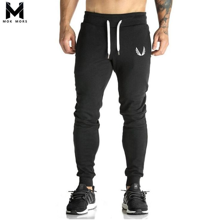 Mens gyms Fitness Sweatpants Pant Male Bodybuilding Workout drawers Casual Elastic Cotton Brand Trousers Joggers Pants. Click visit to buy #CasualPants