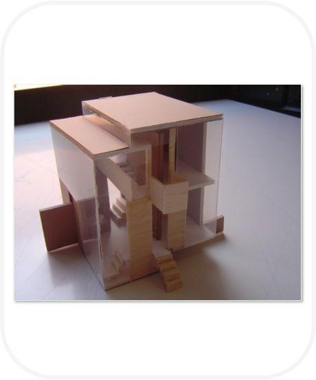 Habitáculo 1º Ano de Arquitectura (Escala 1/100) on Behance