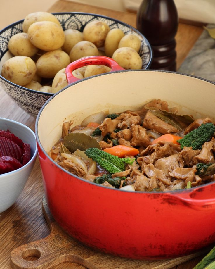 Vegansk kalops | Jävligt gott - vegetarisk mat och vegetariska recept för alla, lagad enkelt och jävligt gott.