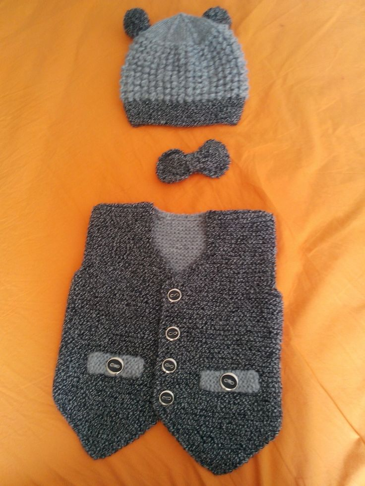 Örgü erkek bebek giysileri Knitted babyboy clothes