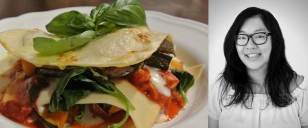 Angelo's Fresh Pasta Products | Chicken, Pumpkin and Spinach Lasagna by Feature Foodie Wendy from Little Apple Mint