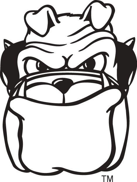 24 best logos images on pinterest georgia bulldogs sports logos rh pinterest com  bulldog mascot logo stencil