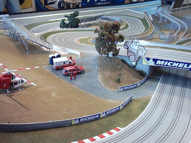 slot-car track