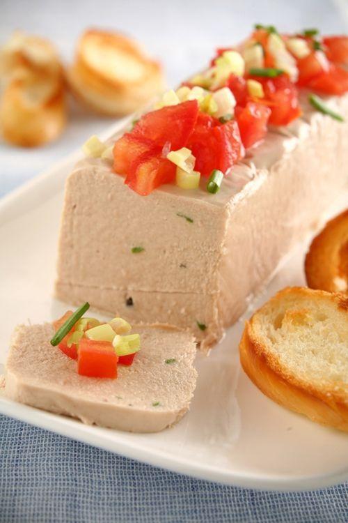 Receta Paté de atun de queso crema