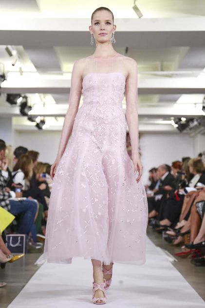 Oscar de La Renta Ready To Wear Spring Summer 2015 New York #NYFW #SS15 #RTW