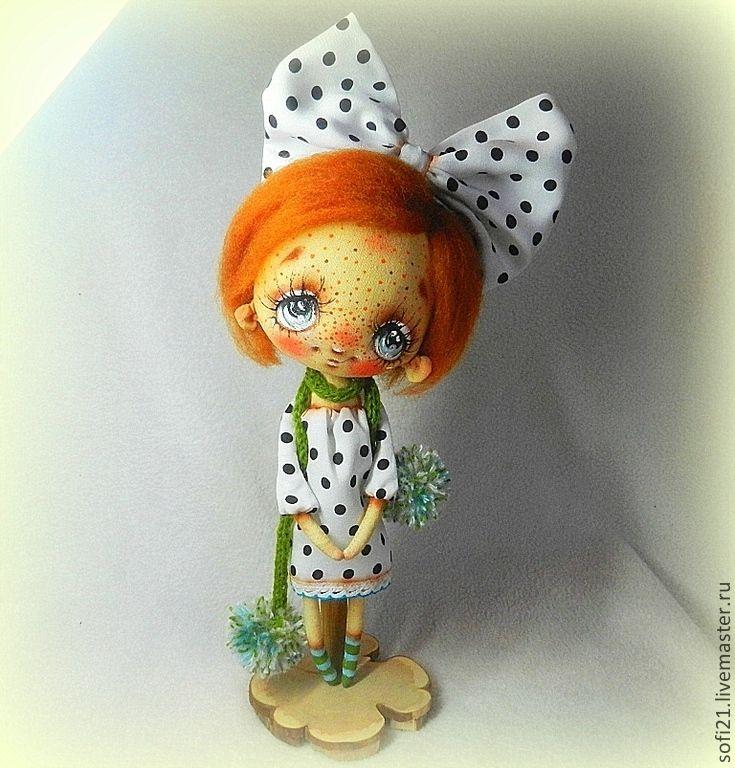 Купить Я тебя подожду, только ты приходи навсегда... - кукла, авторская игрушка, текстильная кукла