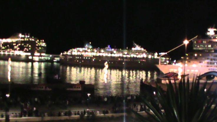 Madeira New Year Ships Horns Concert 2012