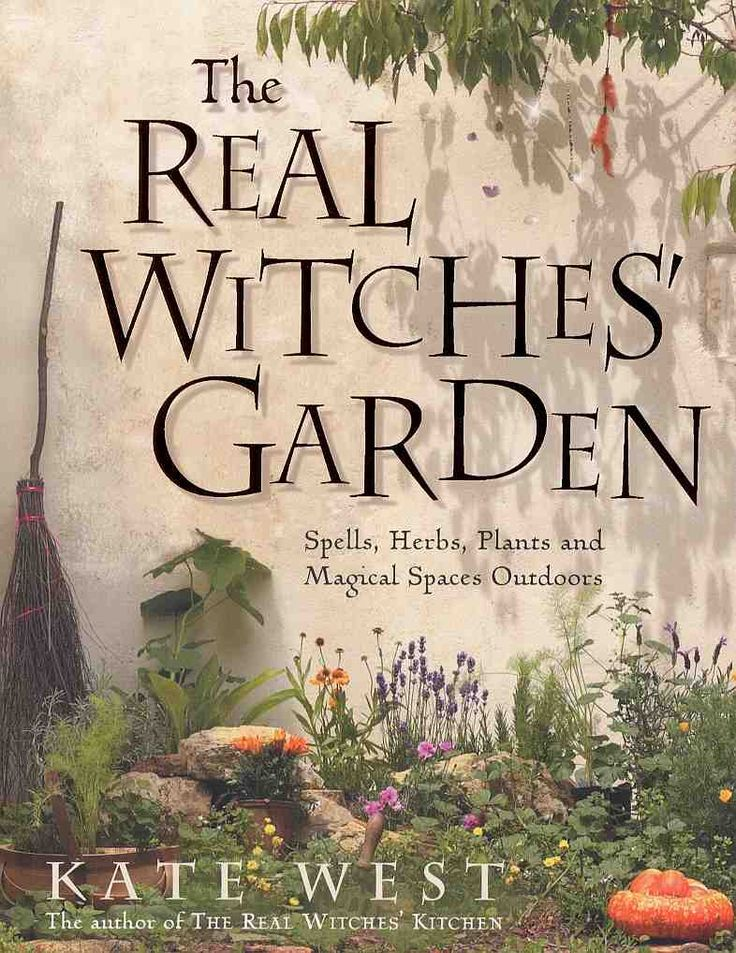 The Real Witch's Garden....I want this book!!!